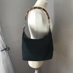 Authentic Gucci bamboo Jackie Shoulder / hand bag